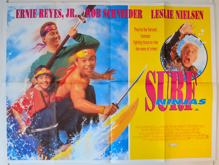 Surf Ninjas  : Cinema Quad Poster